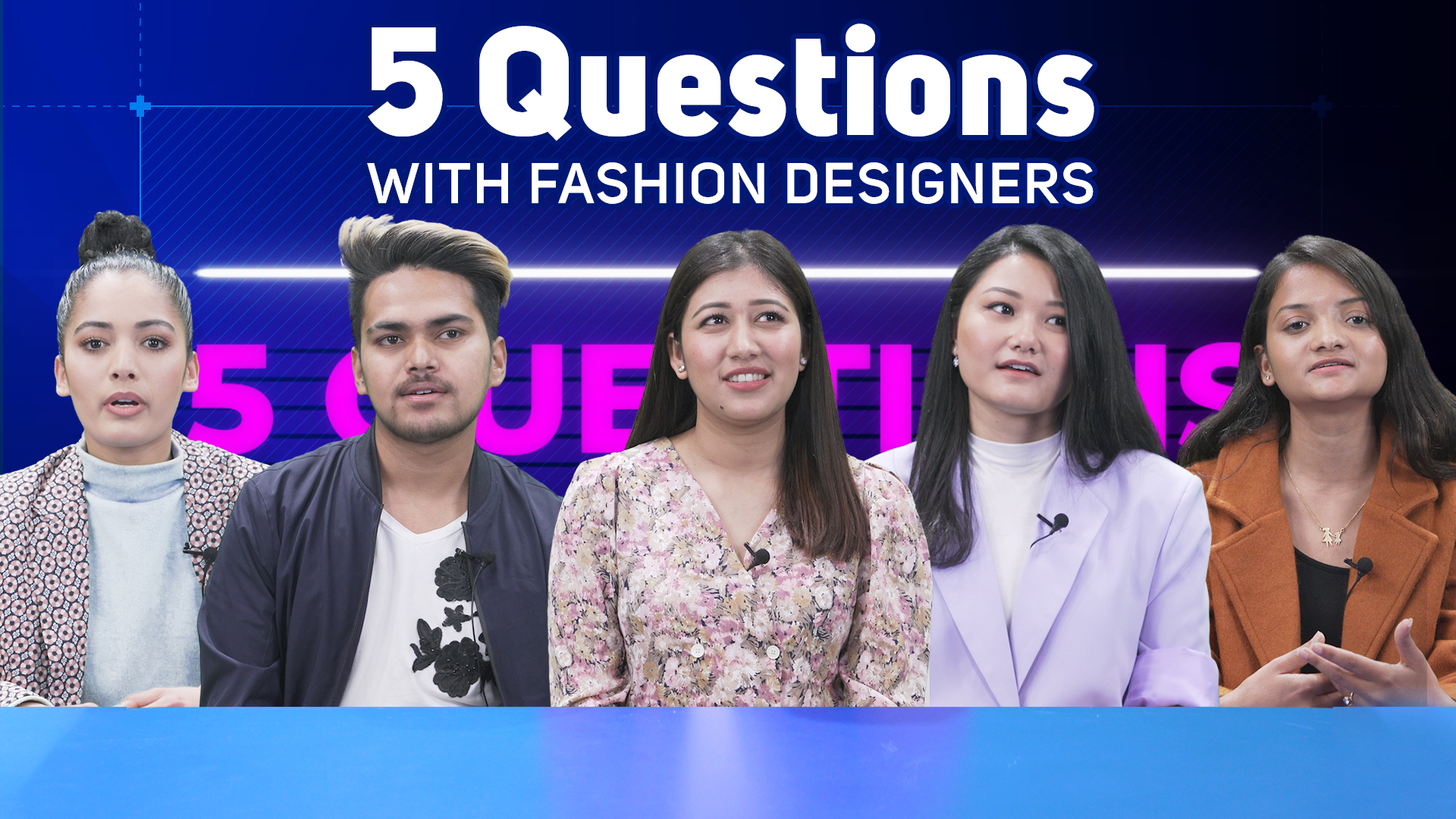 5 Questions with Fashion Designers