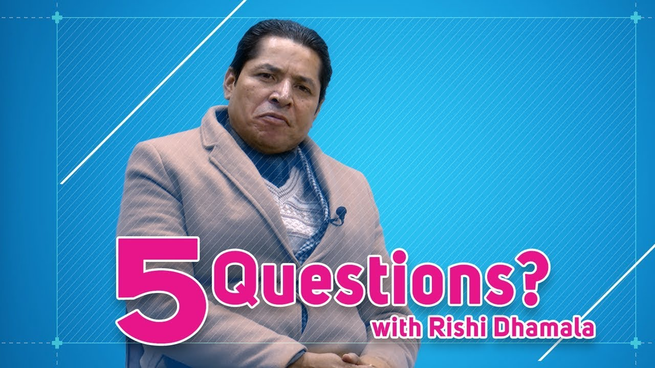 Bedroom ma kasle hamala garcha badhi ? Rishi or Eliza | 5 Questions with Rishi Dhamala