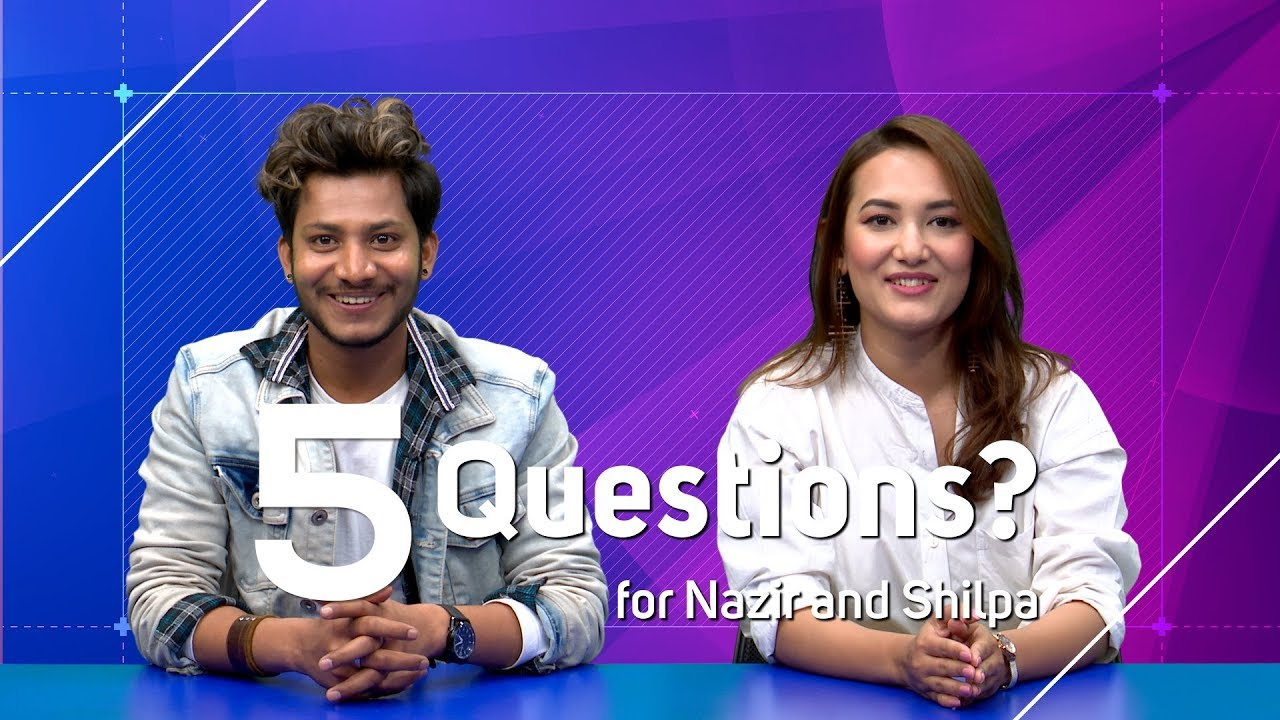 Najir Hussain | Shilpa Maskey - 5 Questions | Costar in Real Life