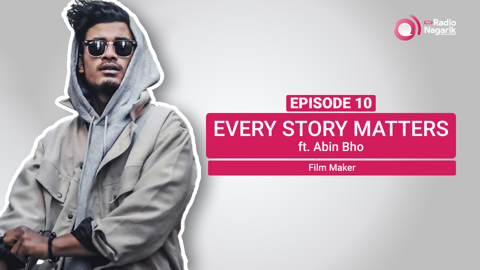 A Harvard Rejected student But a Successful Filmmaker | Nepali Podcast with Abin Bho