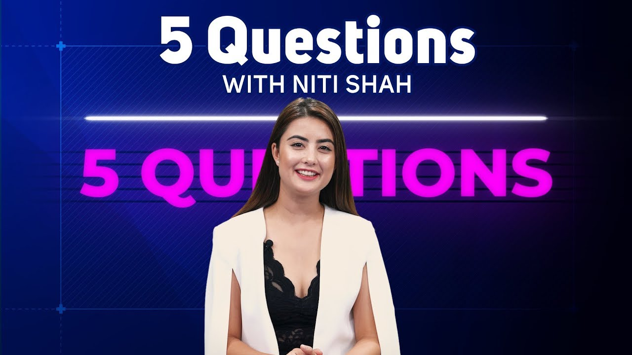 5 Questions with Niti Shah | Miss Nepal International