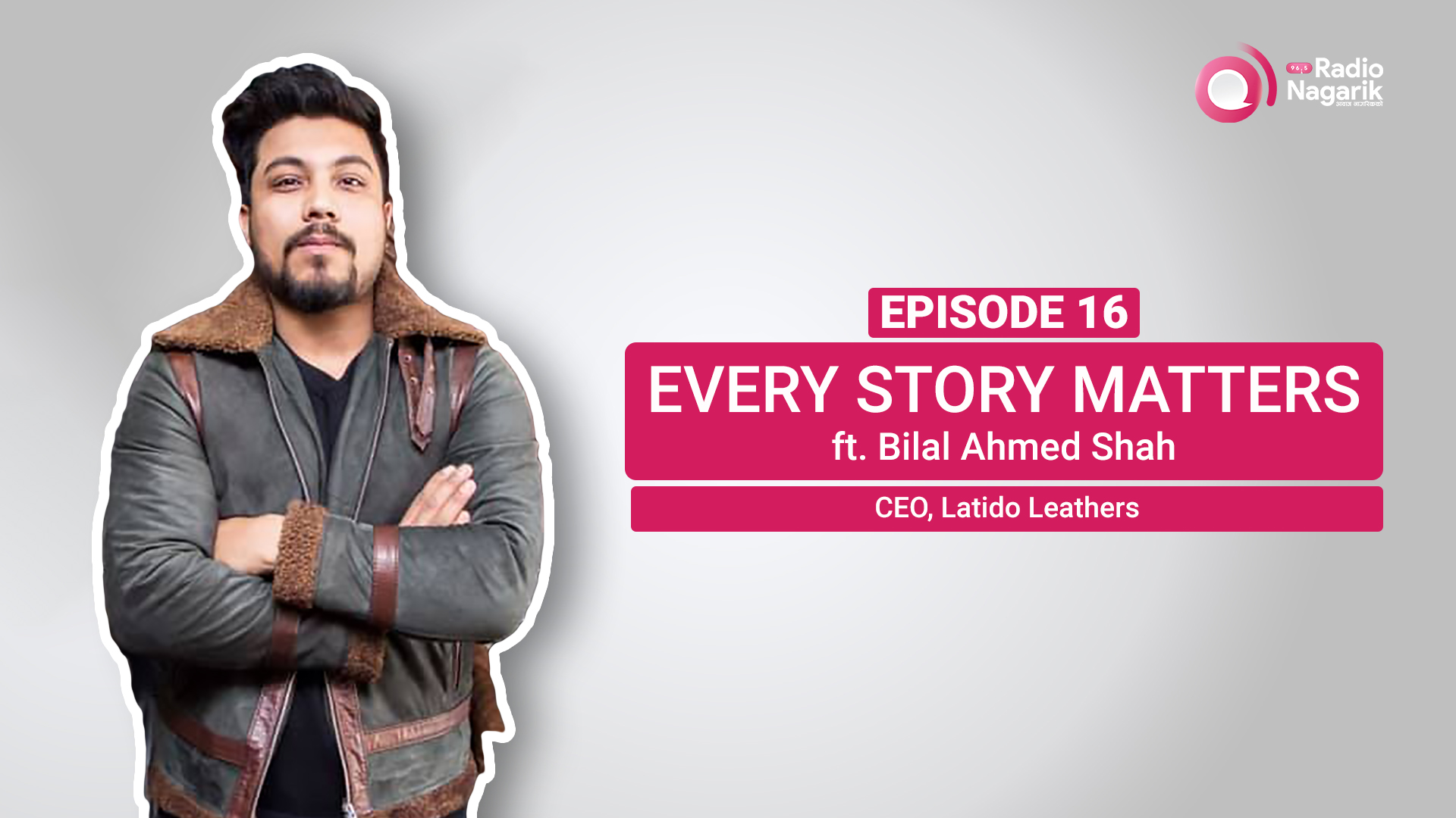 """I am a free soul""- Bilal Ahmed Shah 