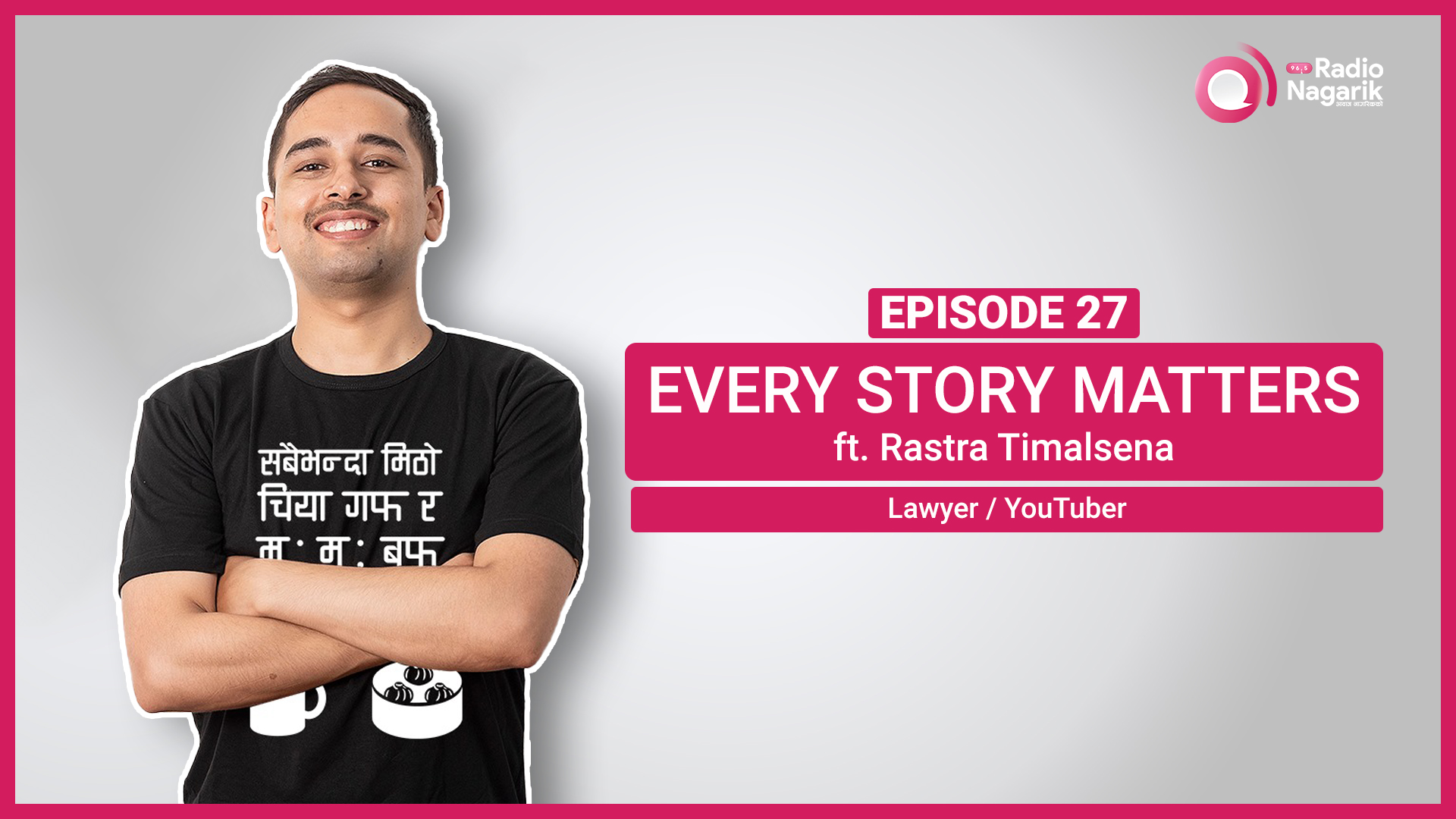 Rastra Timalsena / Story of a Random Nepali Lawyer | Nepali Podcast