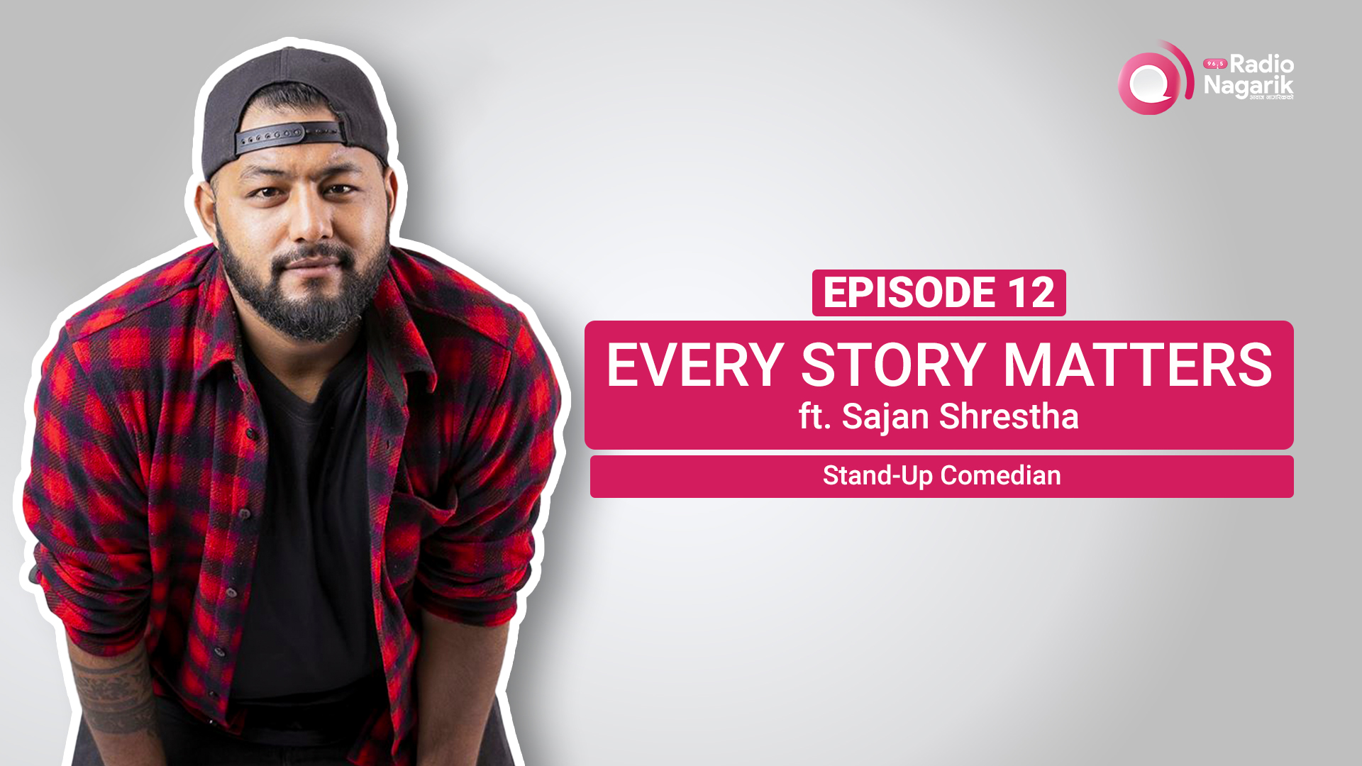 """I almost didn't become a Stand-up Comedian""- Sajan Shrestha 