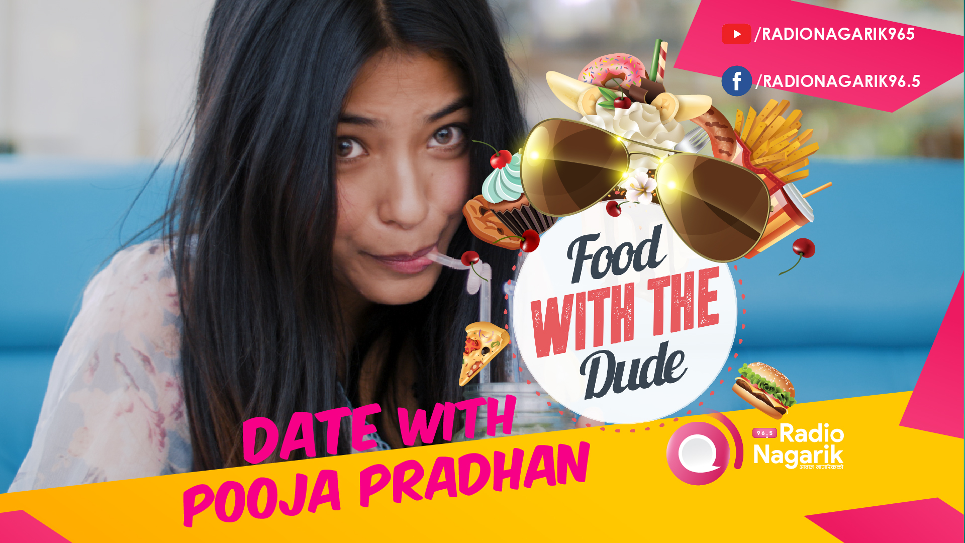 Date with POOJA PRADHAN | Tips for Bali Vacation & more - DATE 10 | Food With The Dude