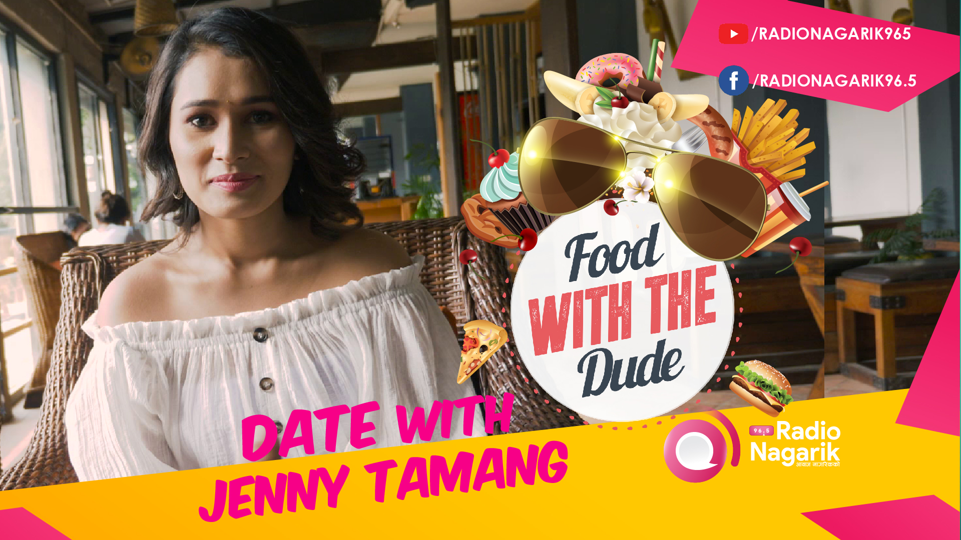 Date with JENNY TAMANG | DJ Jenny in the house! - DATE 9 | #FoodWithTheDude