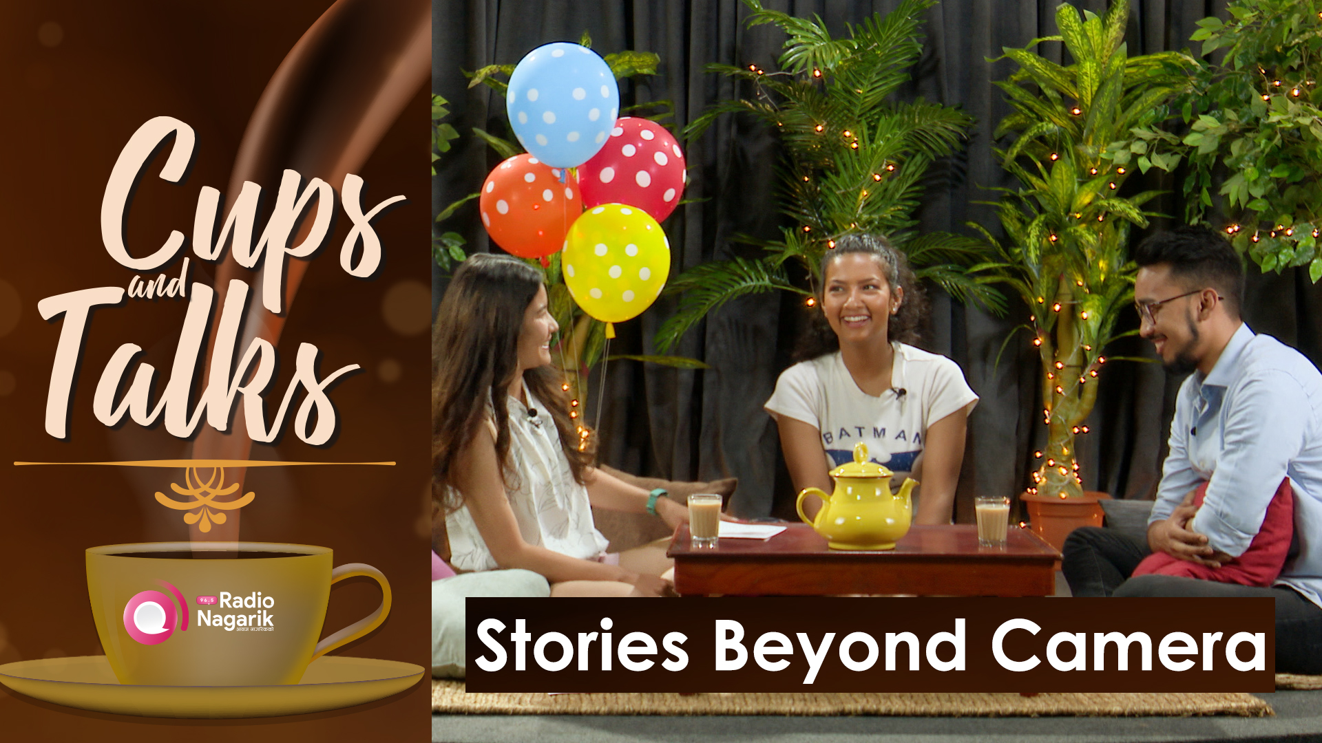 "Nishma Dhungana Choudhary and Ayush Shrestha - ""Stories Beyond The Camera's brief"" 
