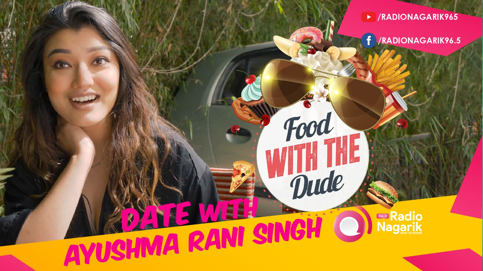 Date with AYUSHMA RANI SINGH | Looking up to Shrinkhala Khatiwada - DATE 7 | #FoodWithTheDude