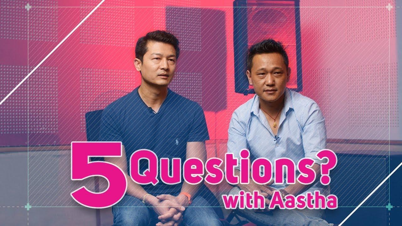 Naren Limbu | Sudip Gurung | Aastha Band | 5 Questions - Antim Maya