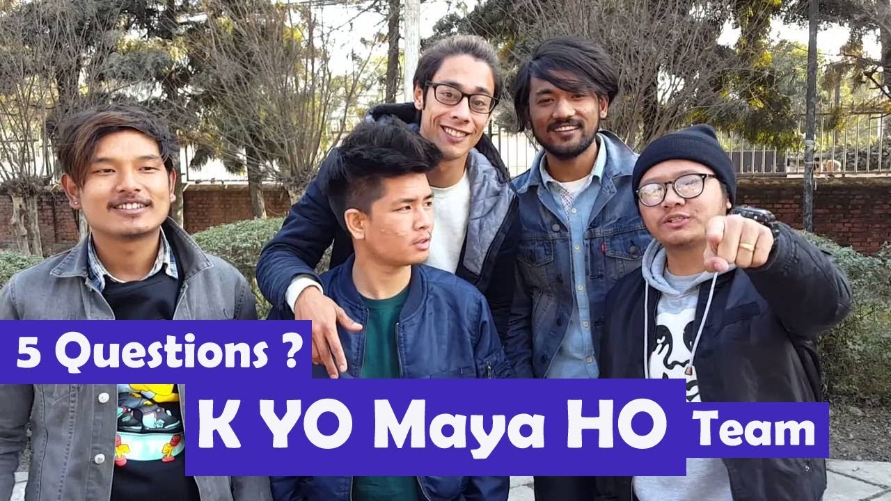 5 Questions | K Yo Maya Ho | B-8eight