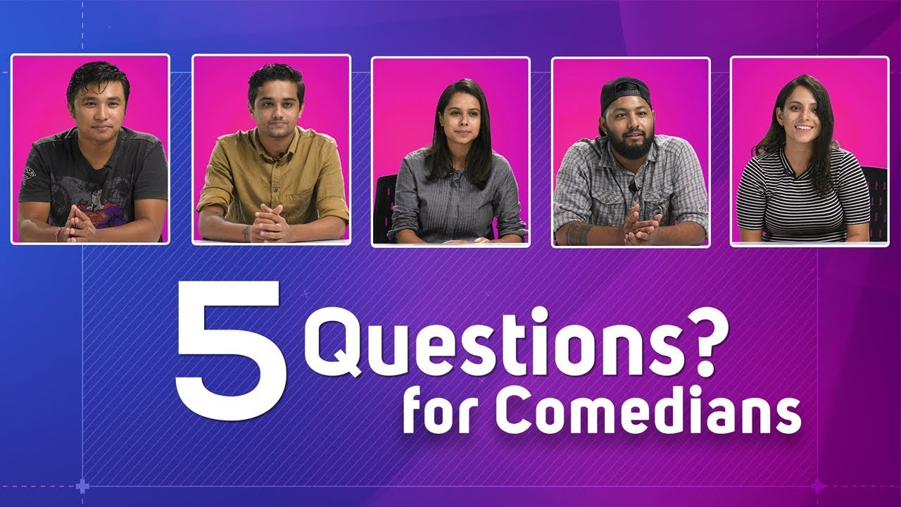 Stand up Comedians | 5 Questions | Stand up Comedy artists- Nepali