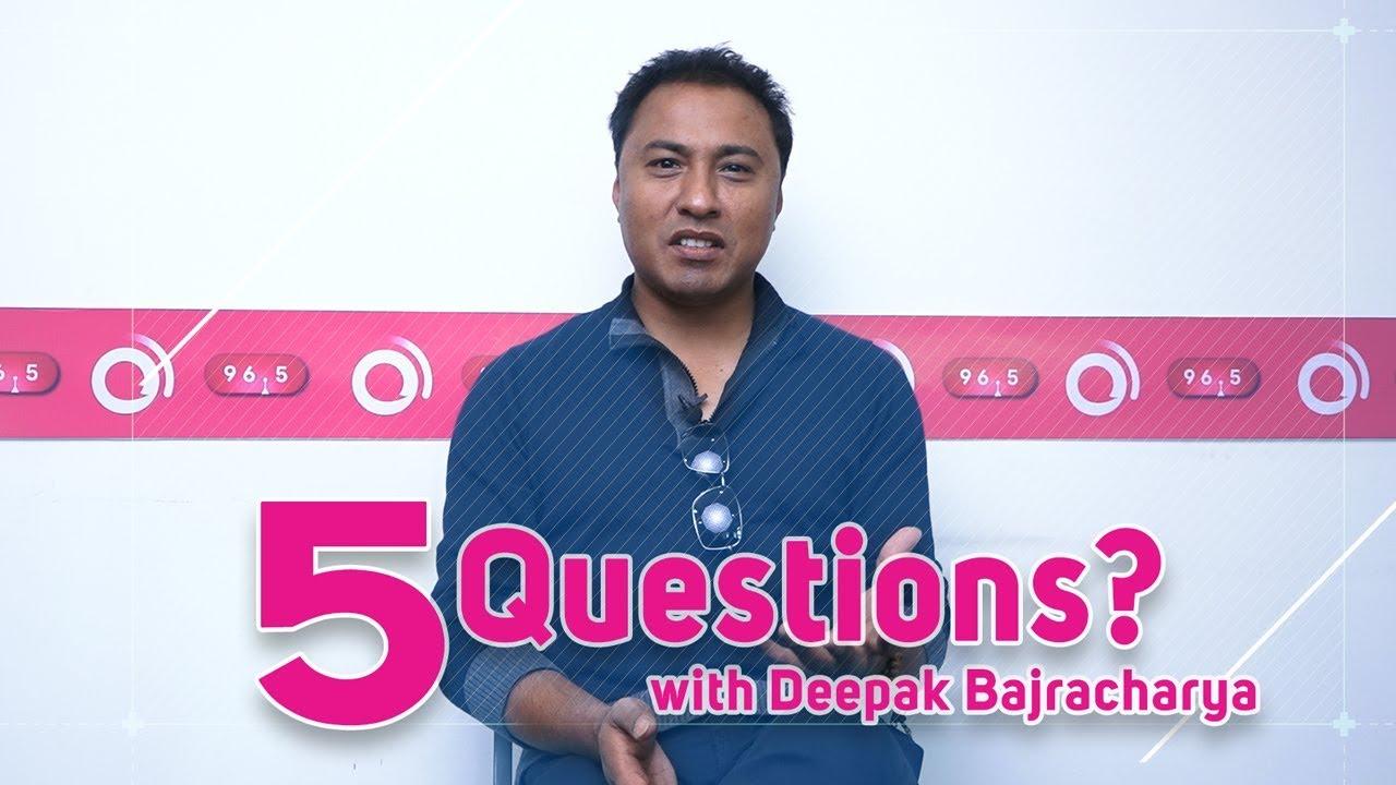 Deepak Bajracharya | 5 Questions - Man Magan & Maya Ko Dorile Singer