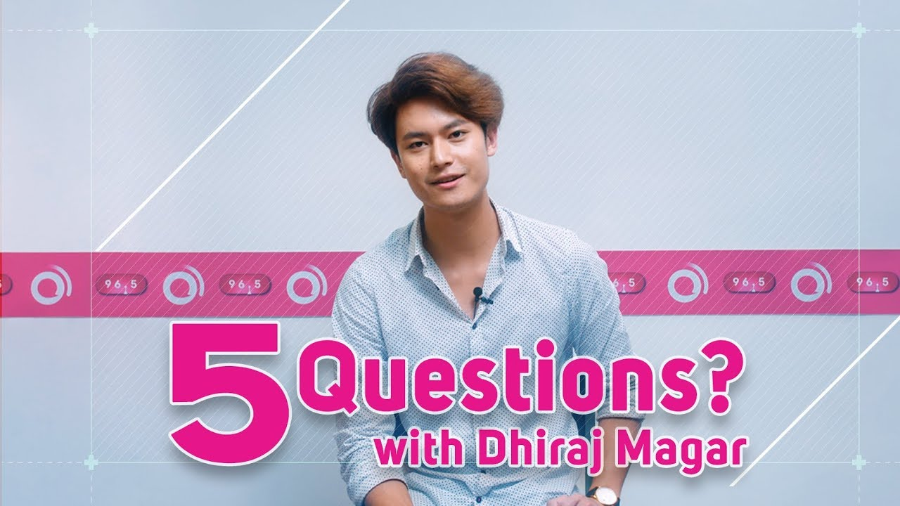 5 Questions with Intu Mintu London Ma actor | Dhiraj Magar