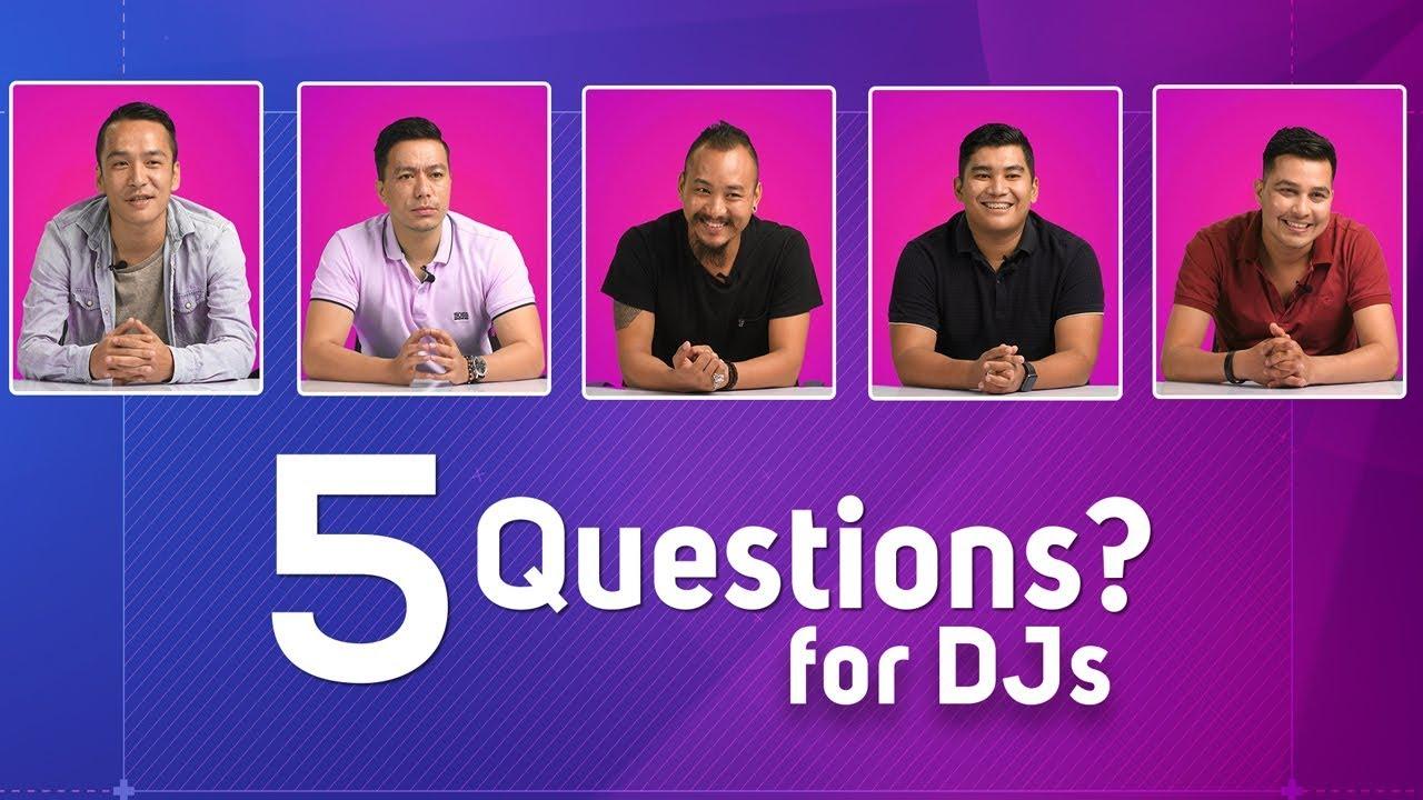 5 Questions | DJ Rabbit | DJ Punit | DJ BPM | DJ Norchen | DJ Finzok
