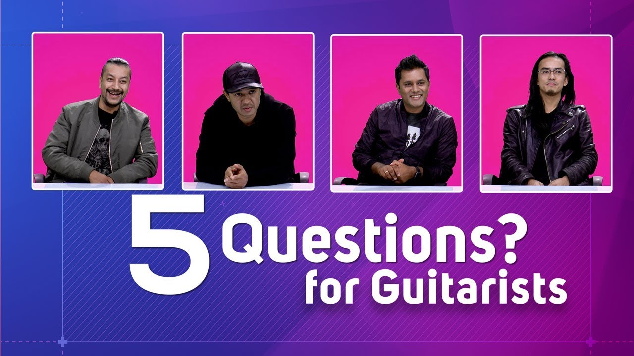 5 Questions with Nepal's Top Guitarists