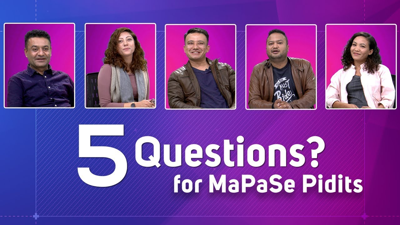 Mapase | Pidits - 5 Questions