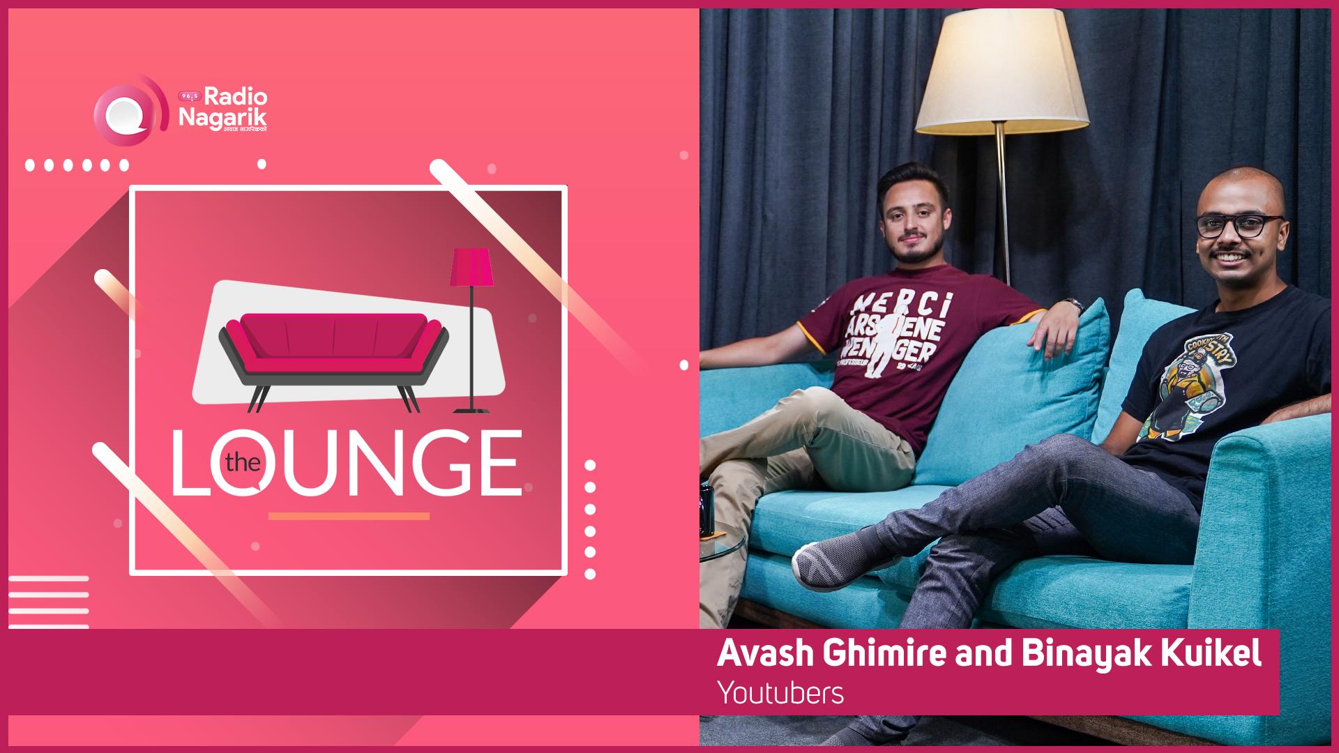 Avash Ghimire & Binayak Kuikel - WE ASKED | The Lounge | Jai Pradhan