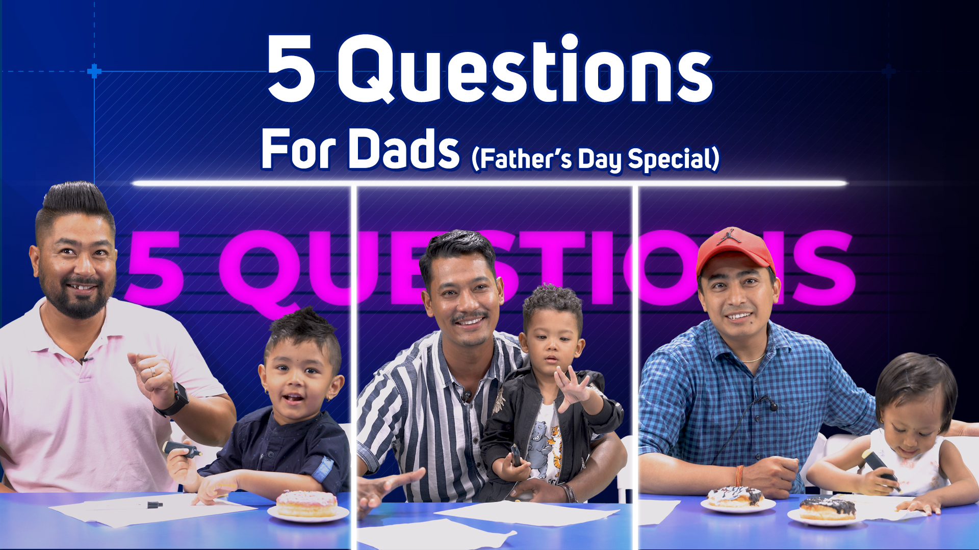 5 Questions with DADS / Father's Day Special | Kushe Aunsi / Gokarna Aunsi / Nepali Father's Day