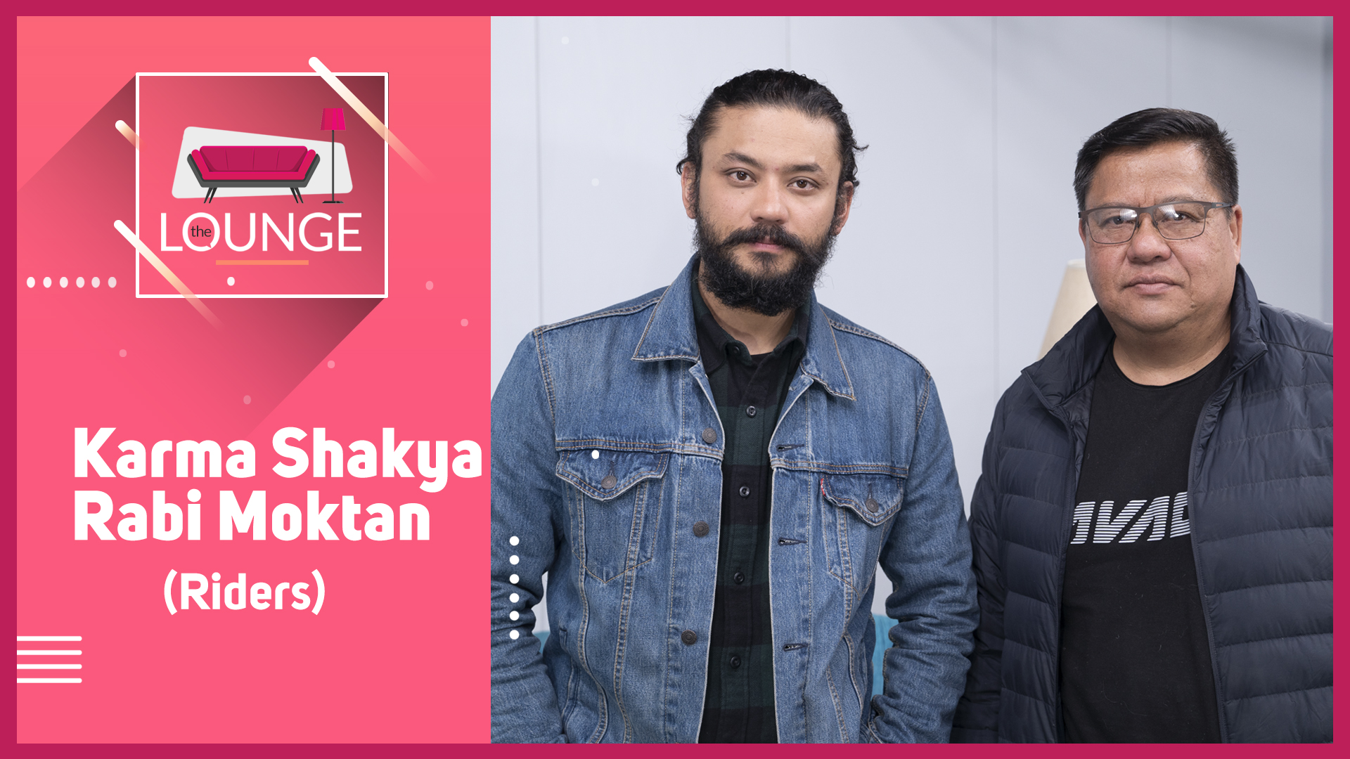 45 days of a bike ride to India / Karma Shakya and Ravi Moktan | The Lounge with Jai Pradhan