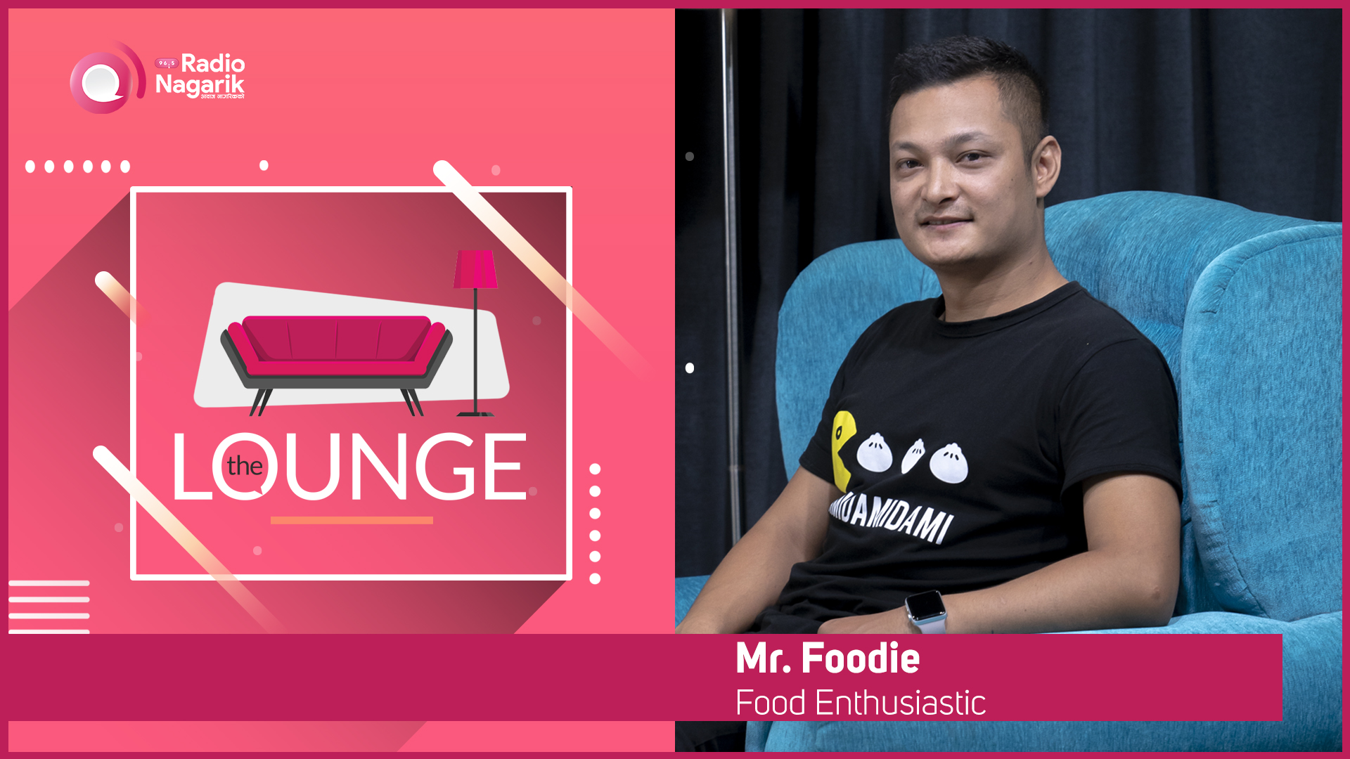 Mr. Foodie Nepal (Dude, who loves food) - The Lounge | Jai Pradhan