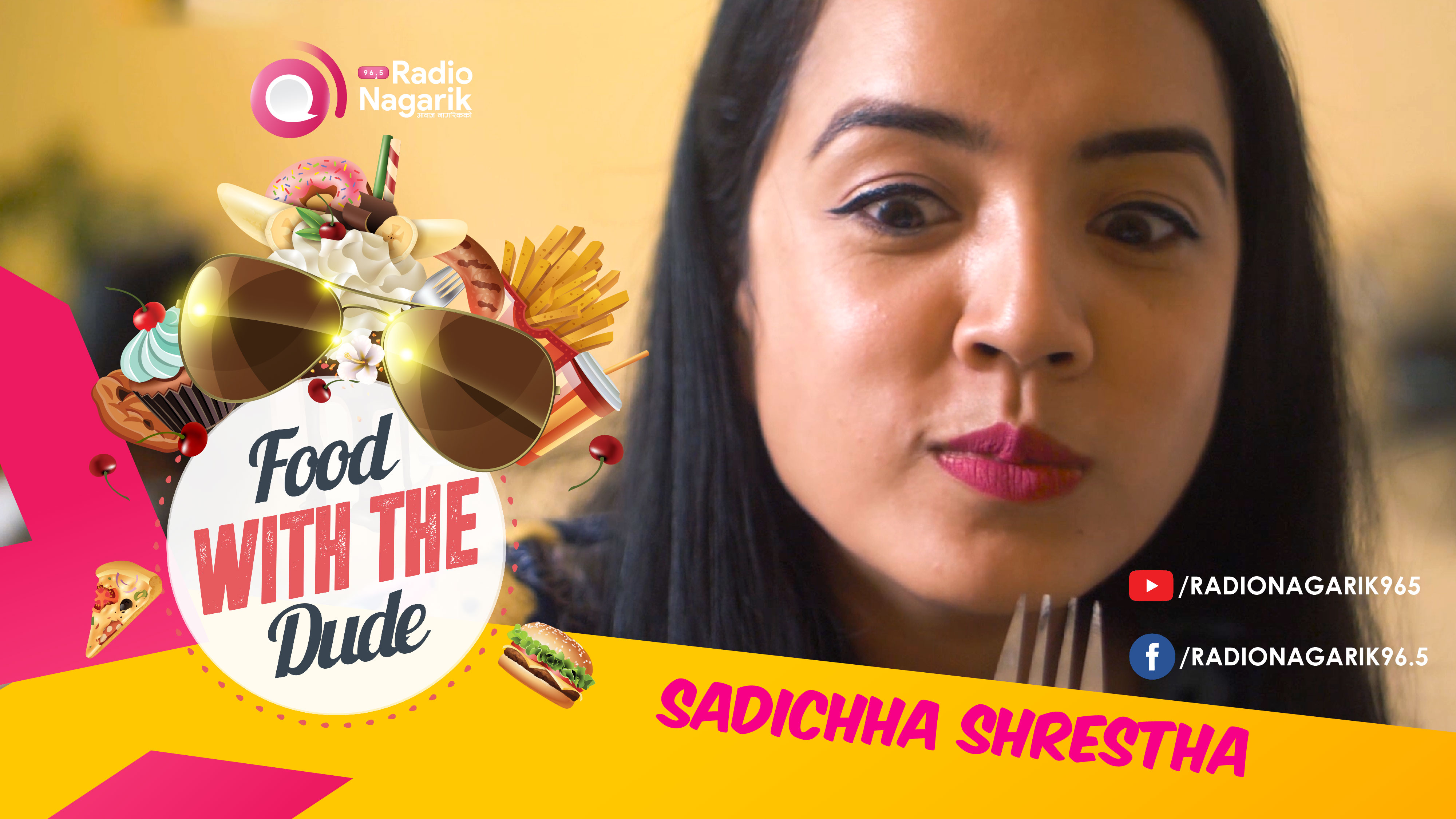 Sadichha Shrestha | Miss Nepal | Food With The Dude | DATE 2