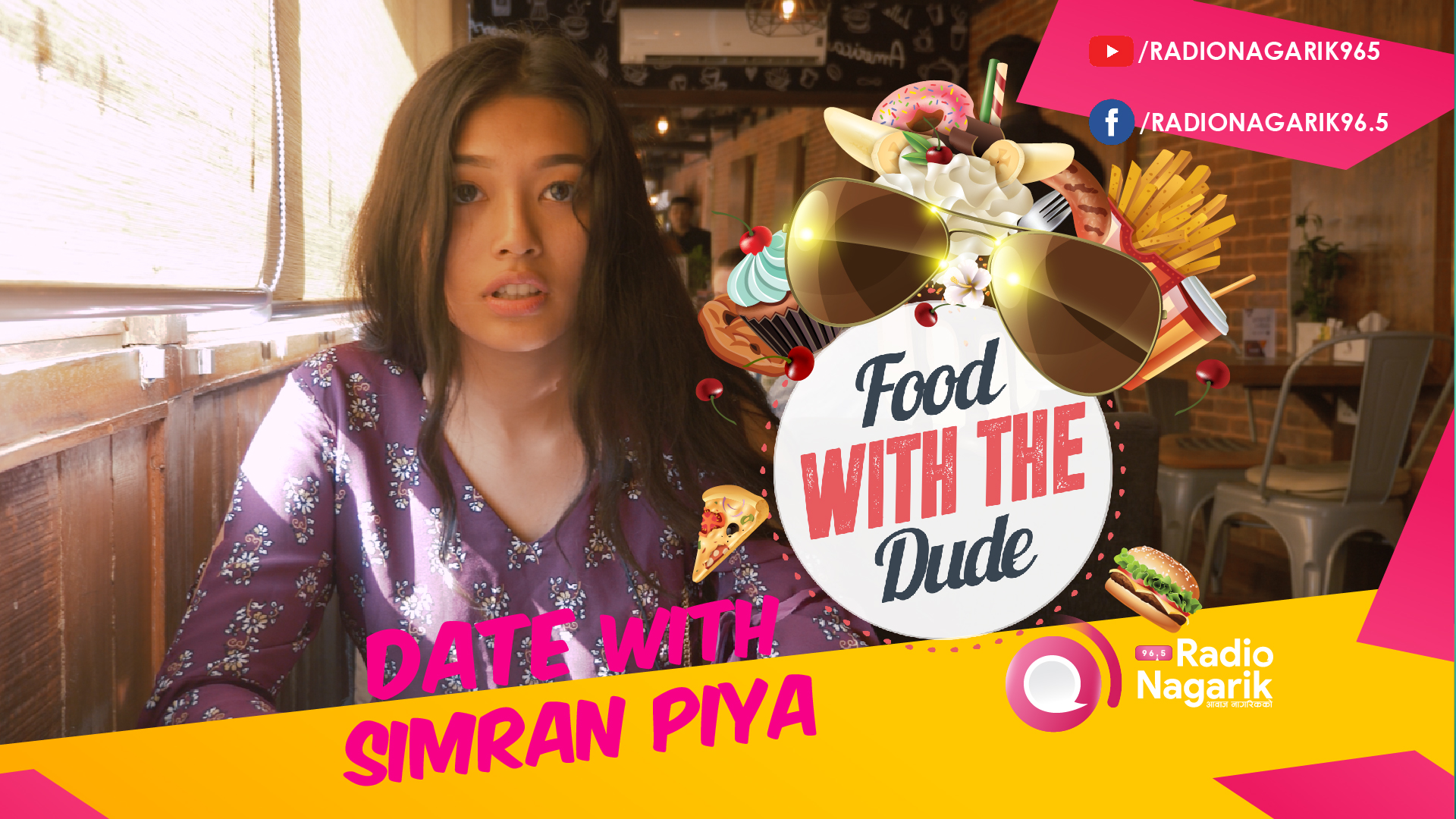 Date with SIMRAN PIYA | Local dishes around Mangal Bazaar - DATE 10 | Food With The Dude