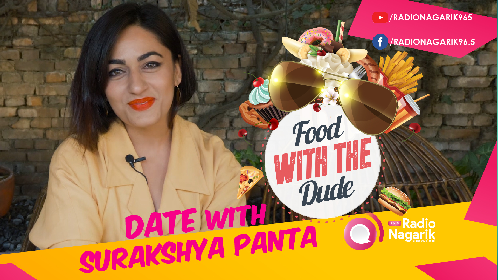 Date with SURAKSHYA PANTA | Looking to impress a girl ? - DATE 8 | #FoodWithTheDude